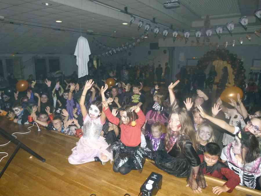 La Boum d'Halloween organisée par le CPE