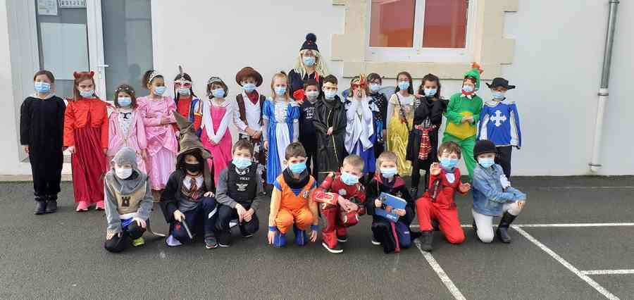 Carnaval à l'école ce 19 février 2021