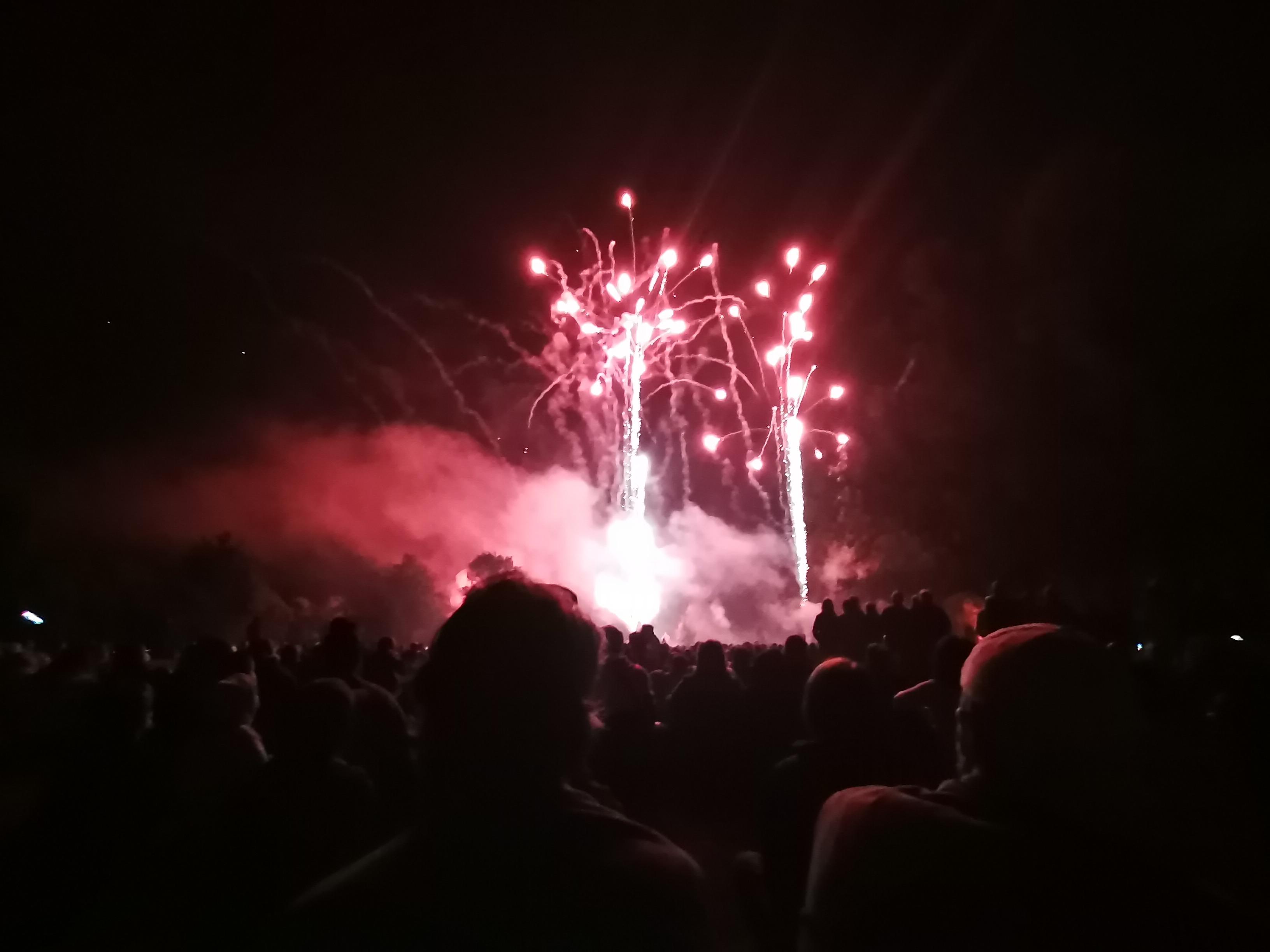 Le feu d'artifice du 1er août, organisé par la municipalité !